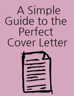 The Four Paragraph Cover Letter - ABA Search